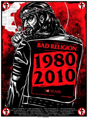BAD RELIGION 2010 30YEARS by Munk One