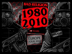BAD RELIGION 2010 EUROPE TOUR by Munk One