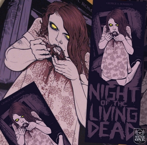 NIGHT OF THE LIVING DEAD 2009 Art Print by MUNK ONE
