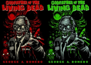 NIGHT OF THE LIVING DEAD 2010 ROMERO Print by MUNK ONE