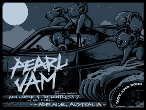 Pearl Jam 2009 ADELAIDE by MUNK ONE
