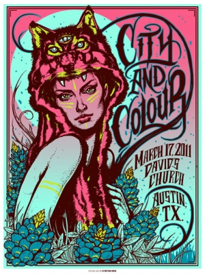 CityandColour 2011 AUSTIN by Munk One