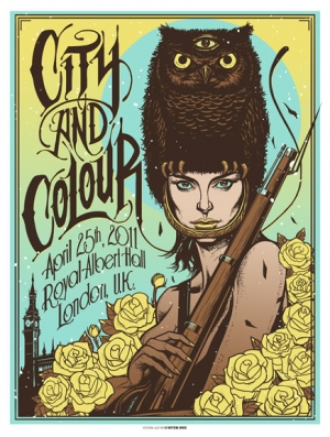 CityandColour 2011 LONDON UK by Munk One