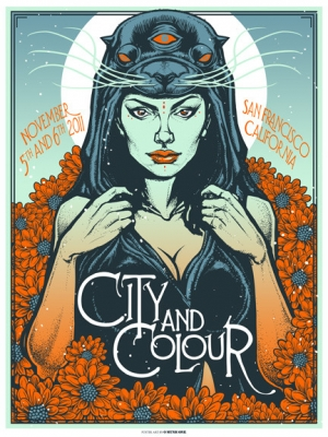 CityandColour 2011 SAN FRANCISCO by Munk One