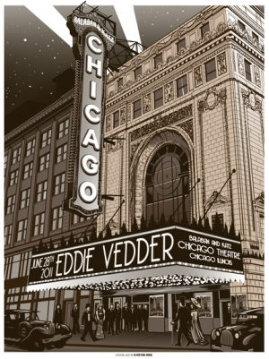 Eddie Vedder 2011 CHICAGO 28TH BY MUNK ONE