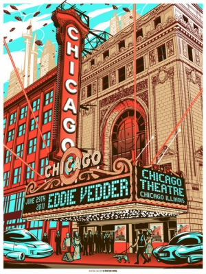 Eddie Vedder 2011 CHICAGO 29TH BY MUNK ONE