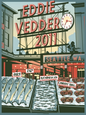Eddie Vedder 2011 SEATTLE by Munk One