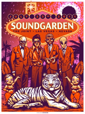SOUNDGARDEN 2011 LAS VEGAS by MUNK ONE