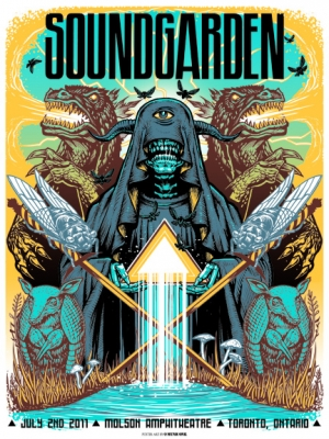 SOUNDGARDEN 2011 TORONTO by MUNK ONE