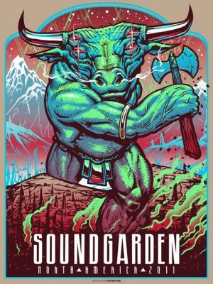 SOUNDGARDEN 2011 NA TOUR by MUNK ONE