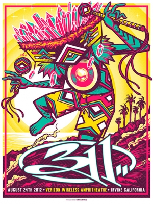 311 2012 IRVINE by MUNK_ONE