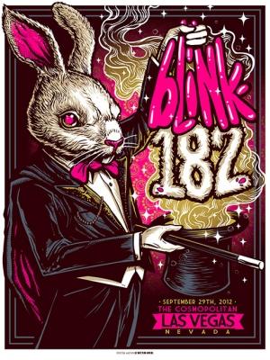 Blink-182 2012 VEGAS by Munk One