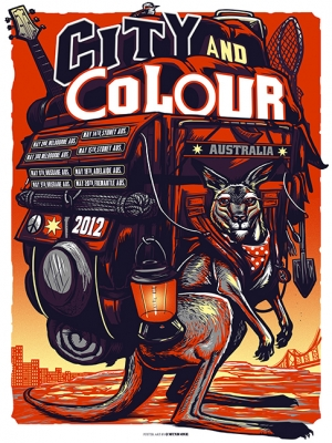 CityandColour 2012 AUSTRALIA by MUNK ONE
