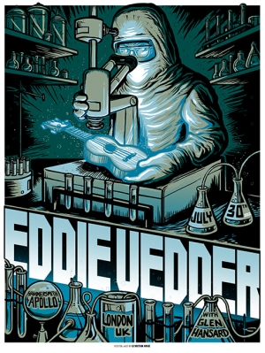 Eddie Vedder 2012 LONDON Variant by MUNK_ONE