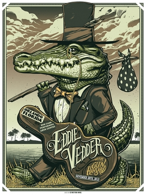 Eddie Vedder 2012 ORLANDO by Munk One