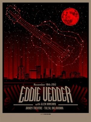 Eddie Vedder Tulsa by Munk One