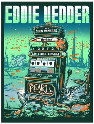 Eddie Vedder 2012 VEGAS by Munk One