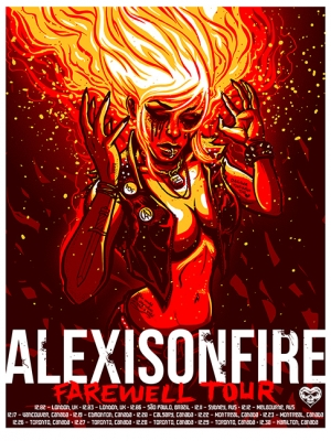 ALEXISONFIRE 2012 FAREWELL TOUR Girl Version BY Munk One
