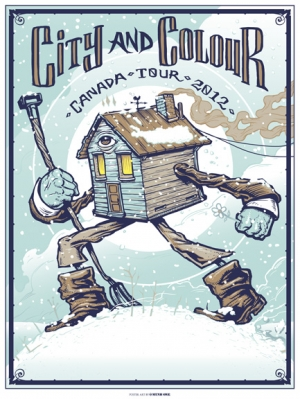 City And Colour 2012 CANADA TOUR by Munk One