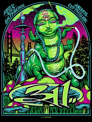 311 2013 SAN FRANCISCO POSTER by MUNK One