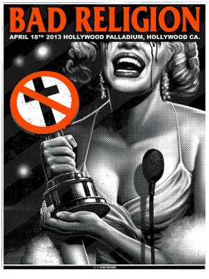 BAD RELIGION 2013 HOLLYWOOD by Munk One