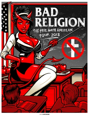 BAD RELIGION 2013 NA TOUR by Munk One