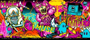 MUSE 2013 Print Set side by side by Munk One