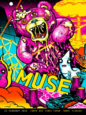 MUSE 2013 TAMPA BAY FEB23 by Munk One