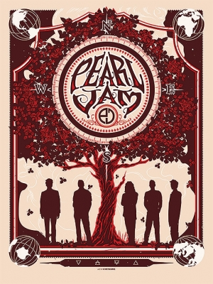 Pearl Jam 2013 10 Club POSTER by MUNK_ONE