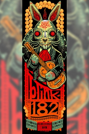 Blink-182 2013 LOS ANGELES by Munk One