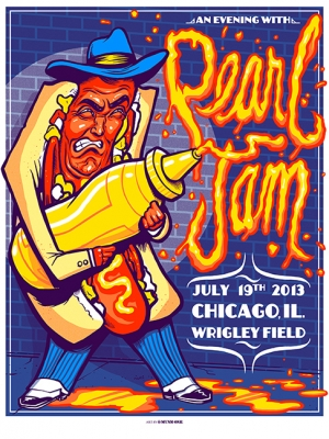 Pearl Jam 2013 CHICAGO by Munk One