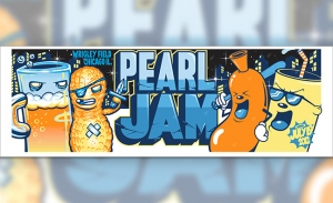 Pearl Jam 2013 WRIGLEY Munk One and Dabs Myla Collaboration