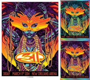 311 2014 311DAY NEW ORLEANS Print and Variants by Munk One