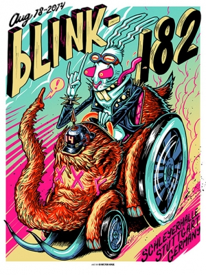 Blink-182 2014 STUTTGART by Munk One