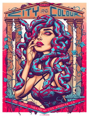 CityandColour 2014 LOS ANGELES by Munk One