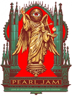 Pearl Jam 2014 MILANO by MUNK_ONE