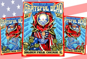 GRATEFUL DEAD 2015 FAREWELL TOUR Print Set by Munk One