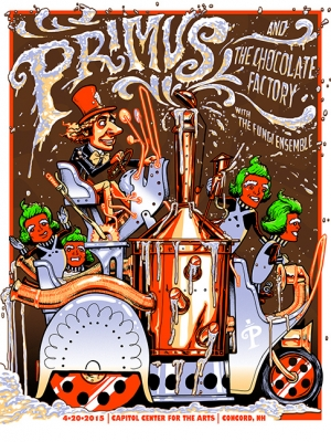 PRIMUS 2015 CONCORD by Munk One
