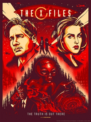 X-FILES 2016 Art Print by Munk One