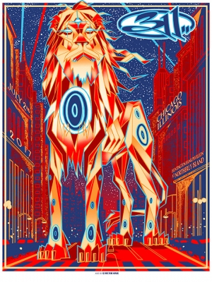 311 Chicago 2017 by Munk One