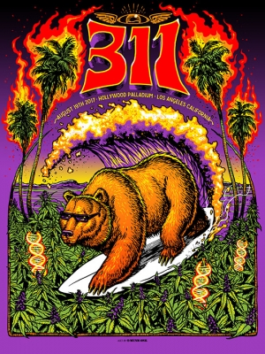 311 LOS ANGELES 2017 by Munk One