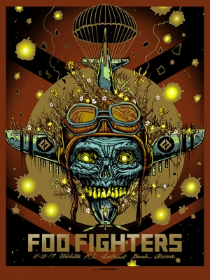 Foo Fighters 2017 by Munk One