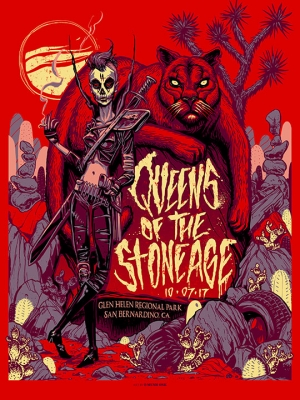 Queens of the stone age 2017 by Munk One