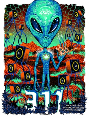 311 Red Rocks 2018 by Munk One