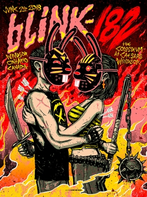 Blink-182 2018 by Munk One