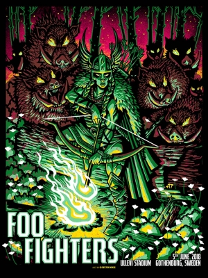 Foo Fighters Sweden 2018 by Munk One