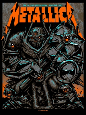Metallica Nights 1 and 2 by Munk One 2