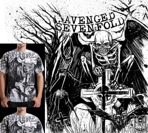 Avenged Sevenfold CEMETARY by Munk One