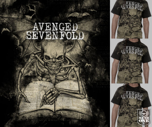 Avenged Sevenfold SCRIPTURES by Munk One