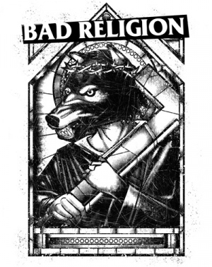 BAD RELIGION WOLF by Munk One